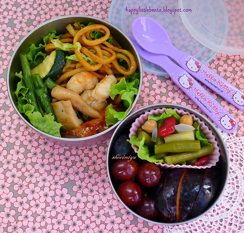 Chinese Leftovers Bento by sherimiya ♥