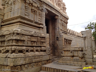 Main Entrance to Lepakshi Veerabhadra Swamy Temple at Lepakshi, in Andhra Pradesh, India