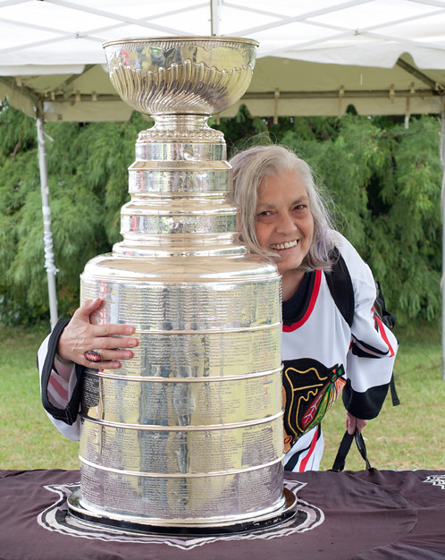 judi and the Cup by Warren Perlstein