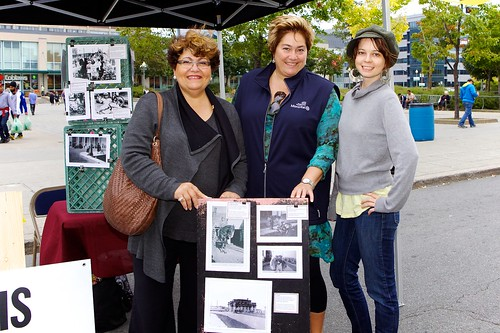 Local politicians at last year's street fair on Hutchison