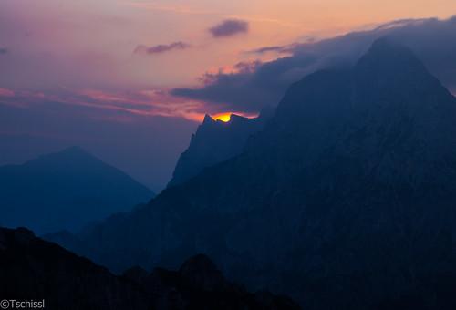 austria österreich nationalpark location berge landschaft steiermark morgenstimmung mödlingerhütte npgesäuse
