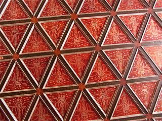 Plafond du château de Blois