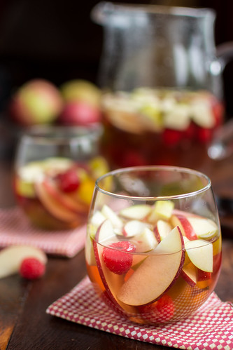 Autumn Sangria with Hard Cider