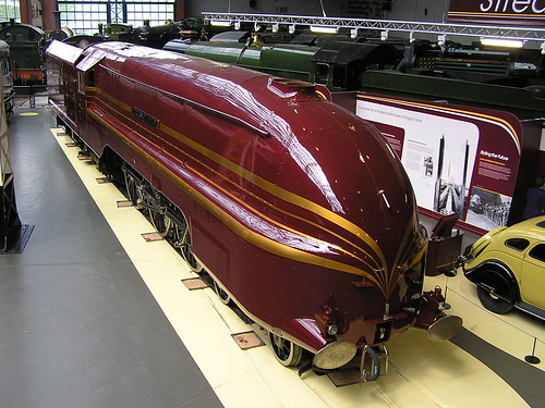 LMS 8P 4-6-2 Coronation No 46229 'Duchess of Hamilton' (1938) NRM York 30.06.2009 P6300145