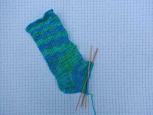 Hanauma Bay Sock wip