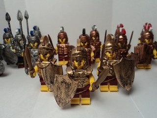 my army of Greek soldiers