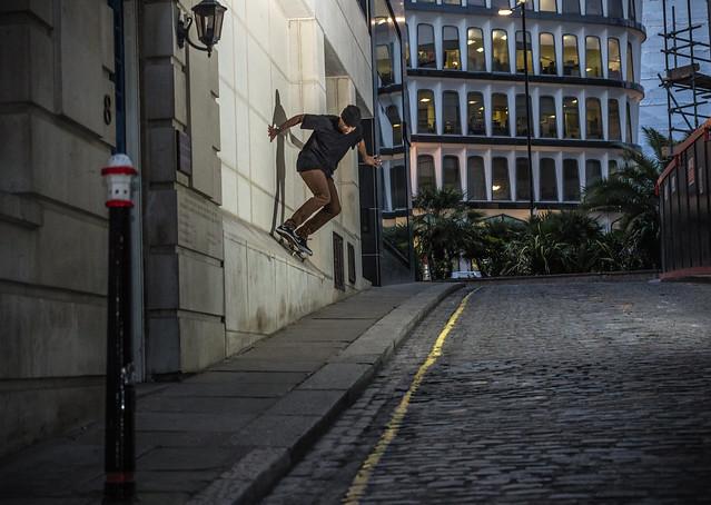 Justin Moore - Wallride - Mansion House - London