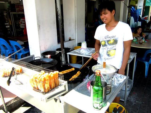 Yew char koi stall