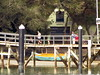 Beachhaven Wharf from Hobsonville Point wharf by christineNZ2014