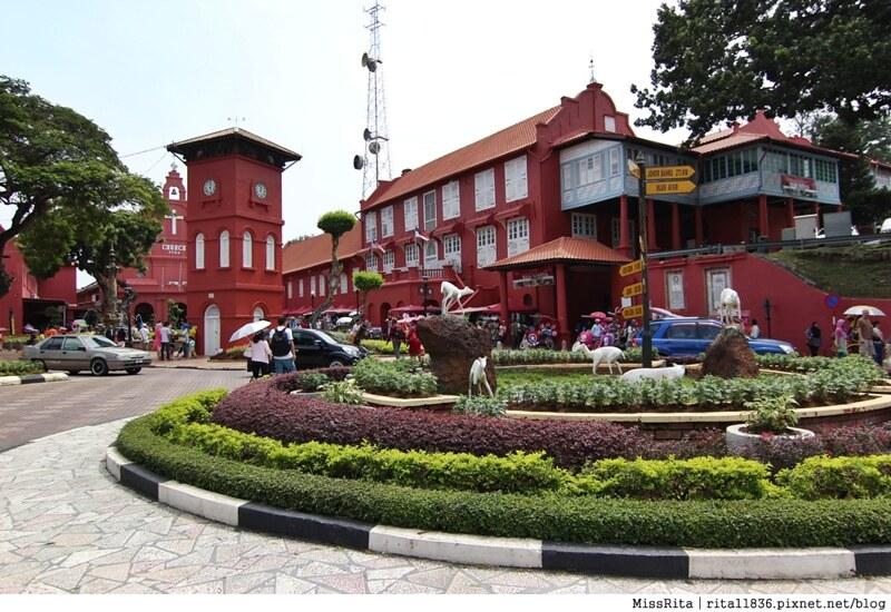 馬來西亞 麻六甲 馬六甲景點 荷蘭紅屋廣場 聖保羅堂St. Paul's Church 馬六甲蘇丹王朝水車 海上博物館1