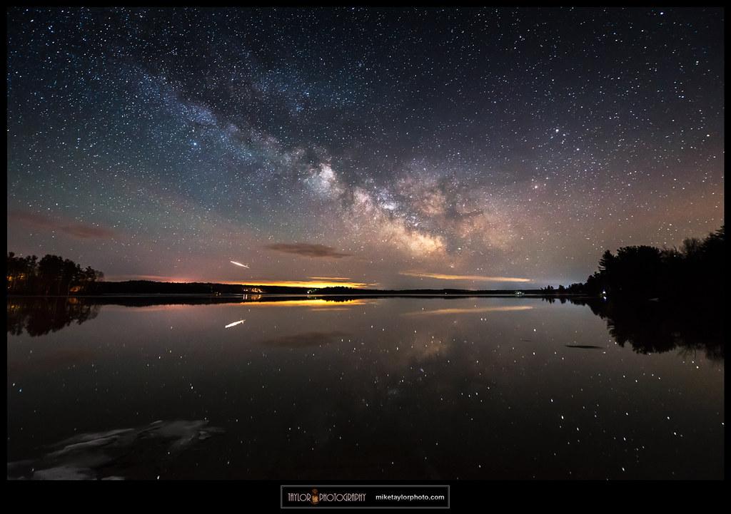Reflector II: Iridium Flare & Milky Way Reflections | Flickr