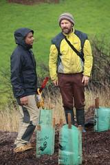 Brian Bainbridge - Native grass planting, Merri Creek at Fawkner