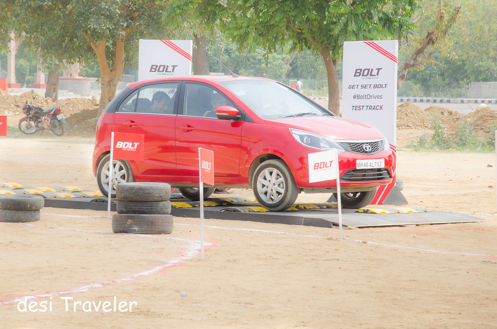 review Tata Bolt road trip suspension test