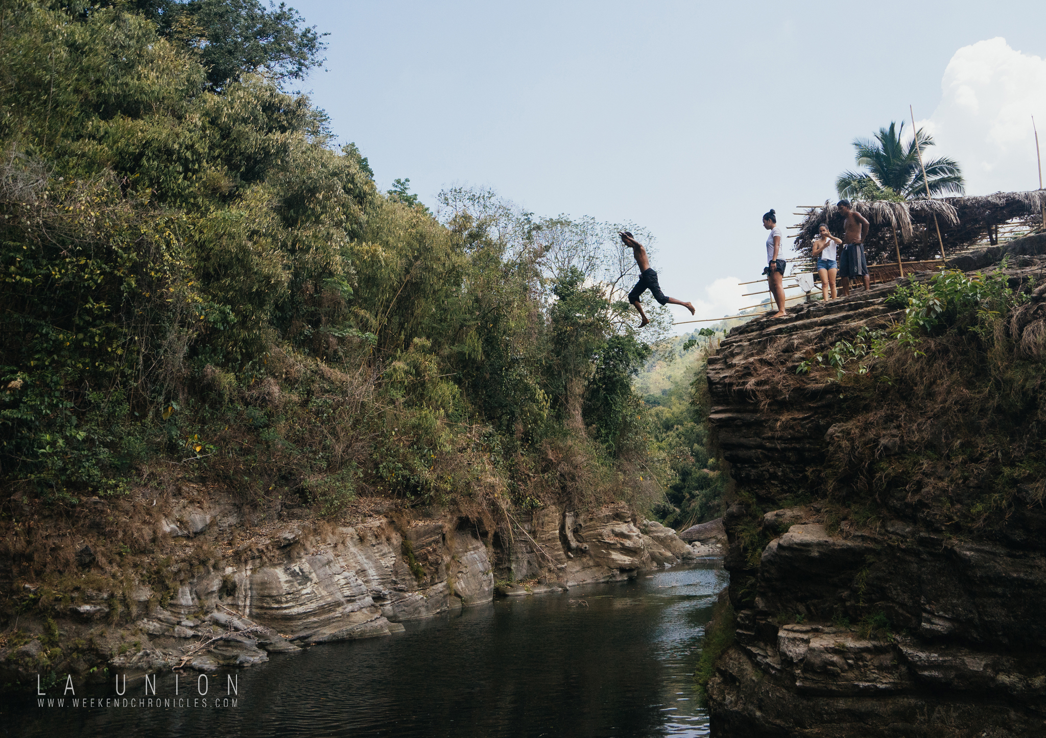 Cliffs. This one was where kuya Ken jumped... after gathering his strength for 40 years! :)