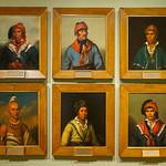 Native American Portraits, Henry Inman, 1830s