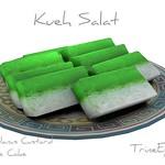 Kueh Salat Asian Cake 3D Model