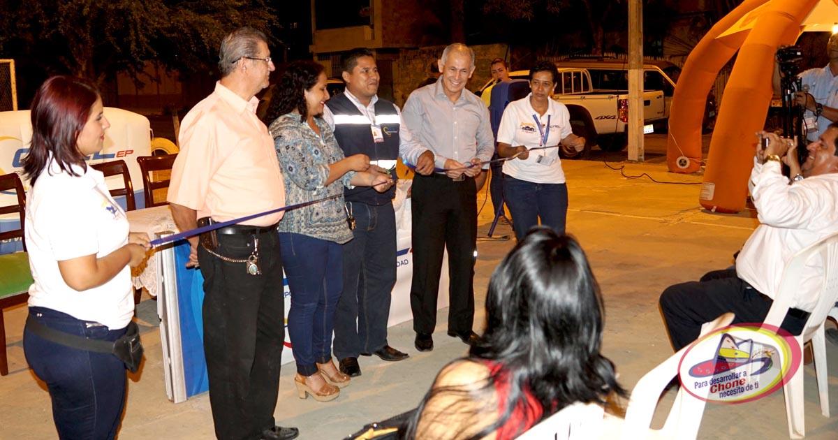 Inaugurado proyecto Ilumina tu barrio