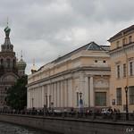 Saint-Petersbourg - Vue sur Saint-Sauveur