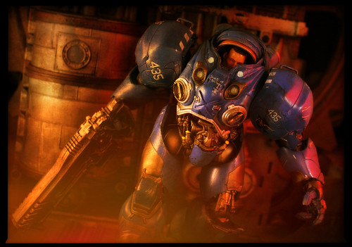 DC Unlimited Starcraft II - Terran Marine Tychus Findlay
