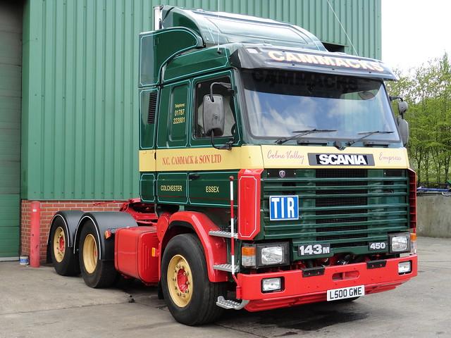 N C Cammack Scania 143 Topline Tractor Unit