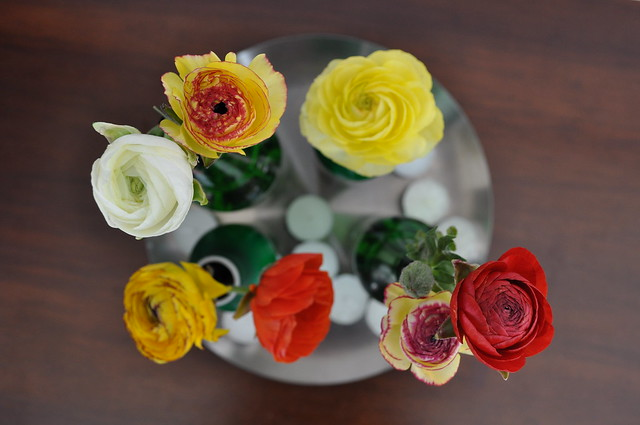Fresh flowers display ideas!!