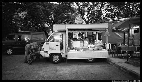 A food van