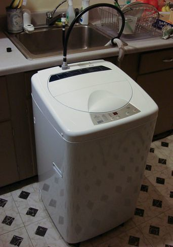 sink adapter for portable washing machine