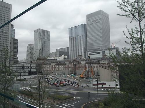JR東京駅(工事中)