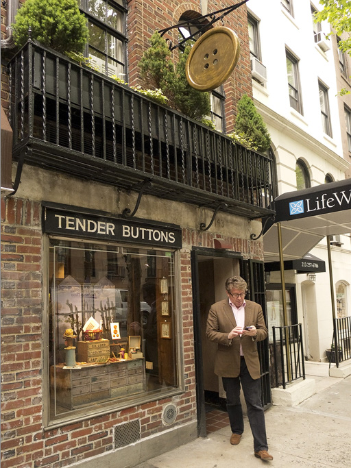 Tender Buttons, nyc