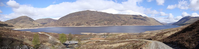 Loch Trieg panorama - but click for all the others