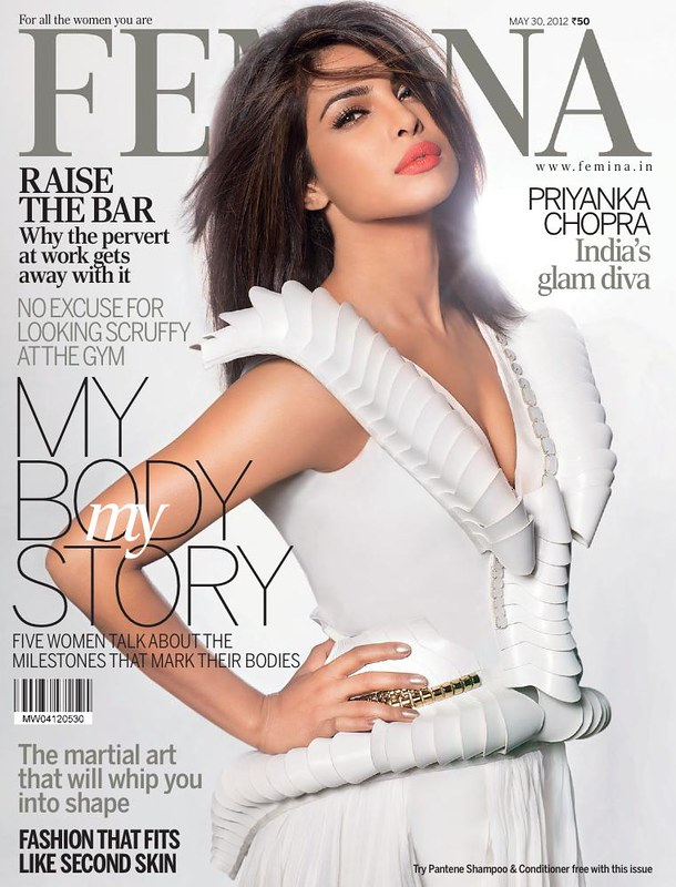 Priyanka-Chopra-on-Femina - May 2012 - Blog Bollywood - Bollywoodme