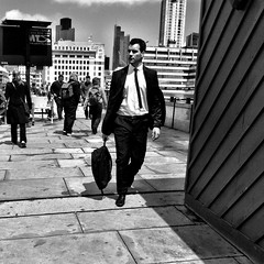 Suit & Tie, London Bridge by {Laura McGregor}