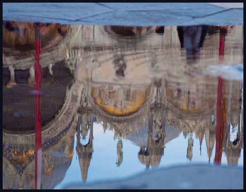 spiegeling op san marco by hans van egdom