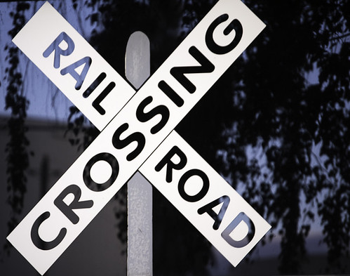 railroad crossing... by credd