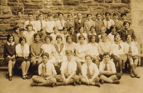 My father's 6th grade class, 1926