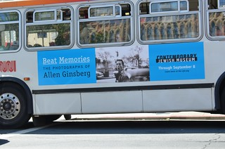 #BeatMemories the photographs of Allen Ginsberg May 23 - Sept 8 at the Jewish Museum