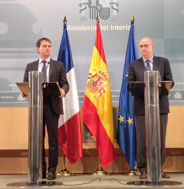 Los ministros del interior de espa a y francia han clausur for Ministros de espana