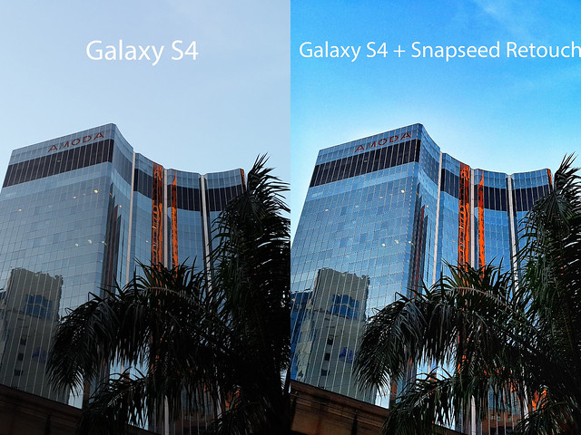 Galaxy S4 - Snapeseed Retouch Aaps