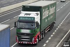 Volvo FH 6x2 Tractor - PX61 BFJ - Laura Dawn - Eddie Stobart - M1 J10 Luton - Steven Gray - IMG_4842