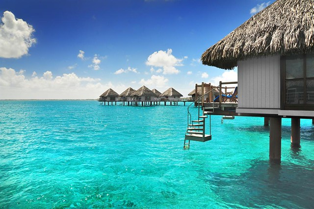 Le Meridien Bora Bora—Over water Bungalows
