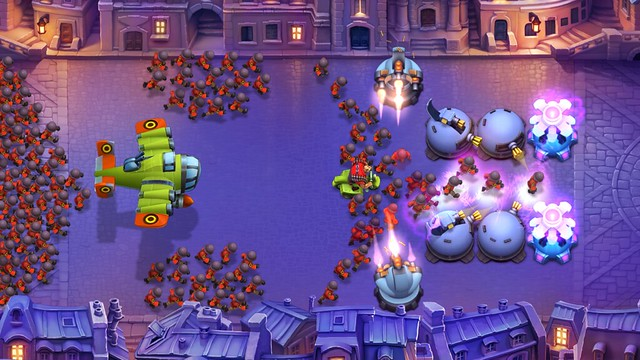 Fieldrunners 2 on PS Vita