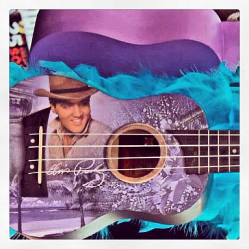 Almires Flight EP-SJ Elvis Presley Soprano Ukulele