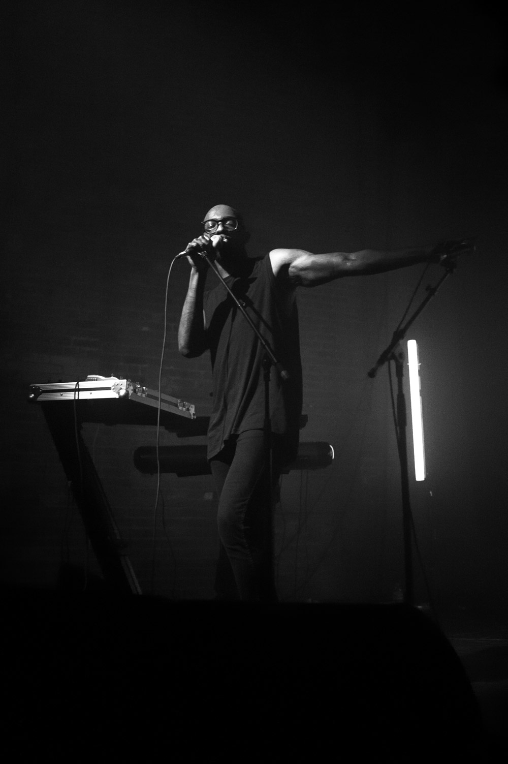 Ghostpoet @ Village Underground, London 30/05/13