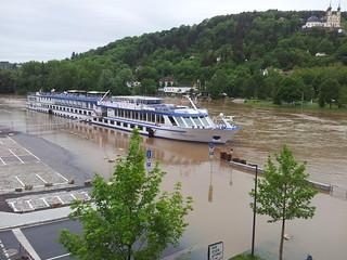 Mai-/Juni-Hochwasser 2013 in Würzburg