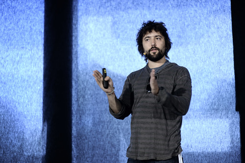 Tom Szaky TerraCycle on stage Rebuild21