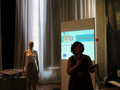Smart Textiles Salon - Carla Hertleer at Launch of TRITEX online learing module