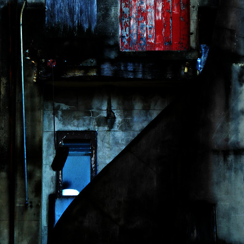 door city morning light red outside shadows exterior rear brisbane worn cbd aged patina burnettlane steffentuck