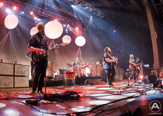 Of Monsters & Men on stage