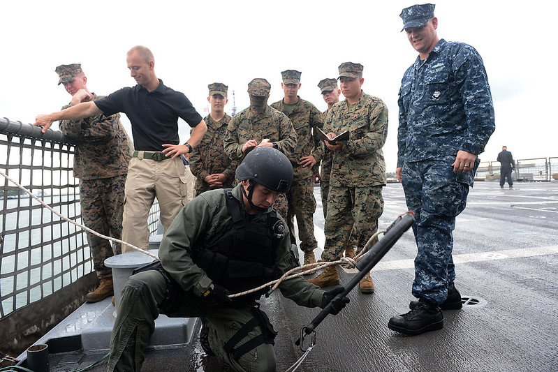 USS Freedom VBSS Team and USS Blue Ridge FASTPAC