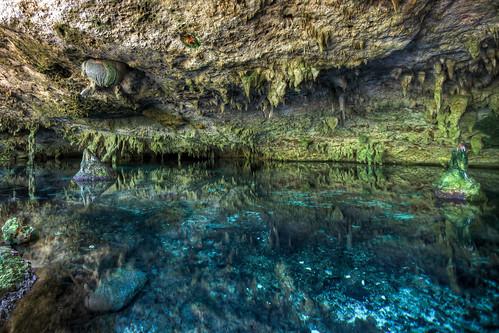 Riviera Maya, México, Cenote Dos ojos